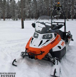 Фото-Arctic-Cat-Bearcat-5000-XT-GS-2015-профиль
